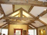 barn beam cathedral ceilings | Timber frame construction ...