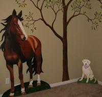 Horse Wall Murals Room Design | Equestrian | Pinterest ...