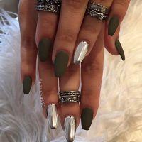 25 Fun Ways to Wear Ballerina Nails | Coffin nails, Nails ...