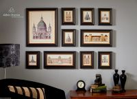 ABm Home 10 Multi Picture Frame Set, Photo Frame Set, Wall ...