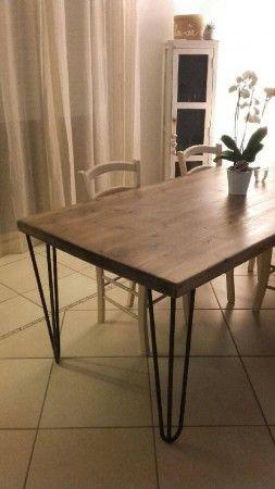 Fabriquer sa table  manger est un jeu denfant avec nos pieds de table en tte dpingle  Home