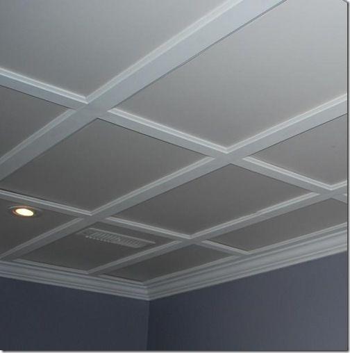 Drop Ceiling Basement on Pinterest