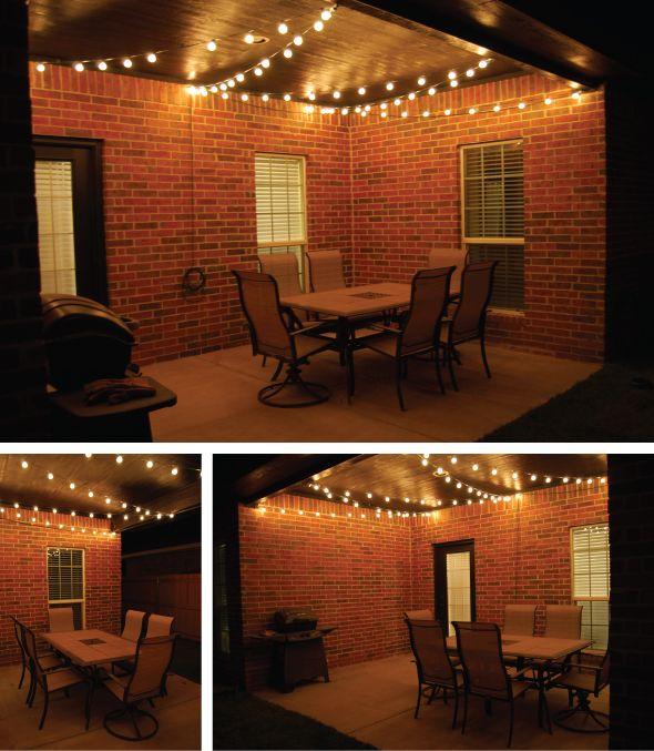 Best 25 Porch string lights ideas on Pinterest  Outdoor