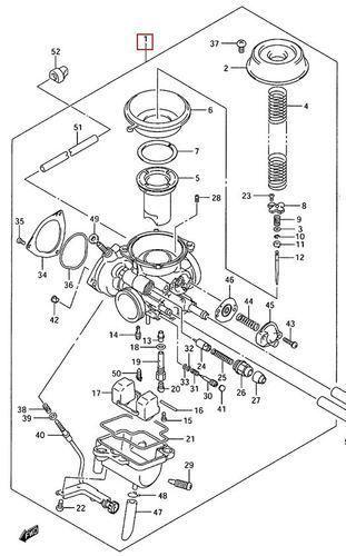 Suzuki Ozark 250 Carburetor Carb Assembly 2002-2009 13200