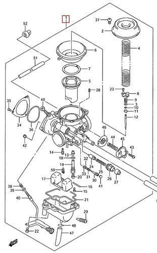 suzuki ozark 250 engine diagram