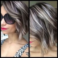 Best Highlights to Cover Gray Hair - WOW.com - Image ...