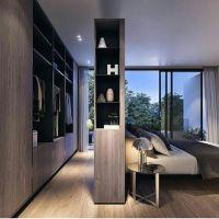 Open concept wardrobe and master bedroom | Interior Design ...