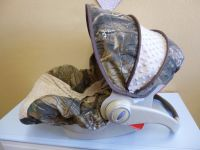 Choose Your Minky Camo Infant Carseat Cover. $65.00, via