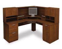 Computer Desk Blueprints 25 Bestar Elite Tuscany Brown ...