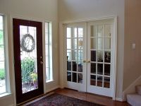 Turn our formal living into a study with french doors ...
