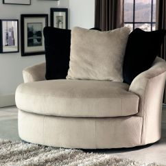 Oversized Swivel Chairs For Living Room Hairdresser Chair Dimensions Heflin Accent By Signature Design Ashley Furniture At Samsfurniture ...