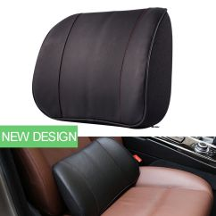 Posture Corrector For Office Chair Youth Camping Chairs Black Lumbar Back Support Cushion Seat Car Home