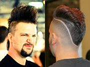 real men's mohawk hairstyles