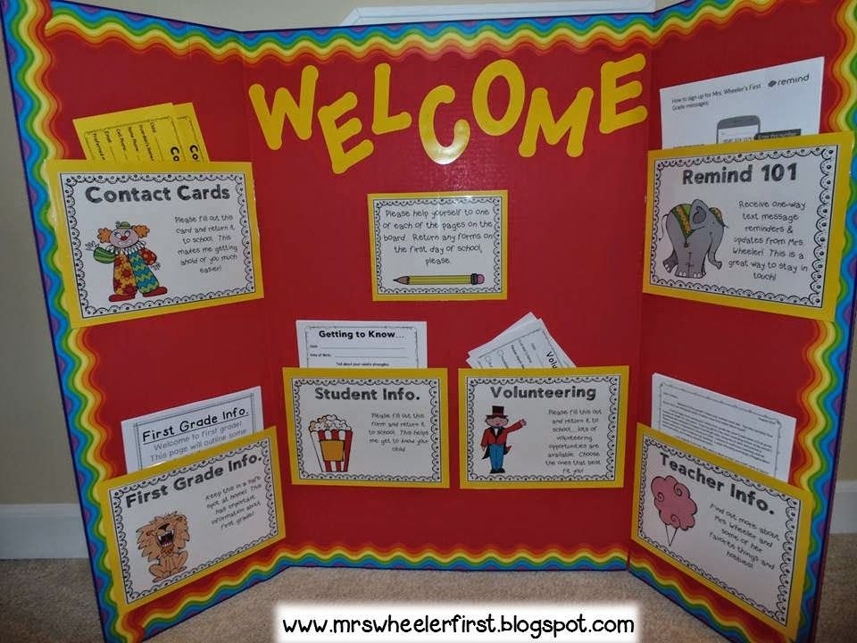 Meet The Teachers Newsletter EDITABLE Superhero Open House