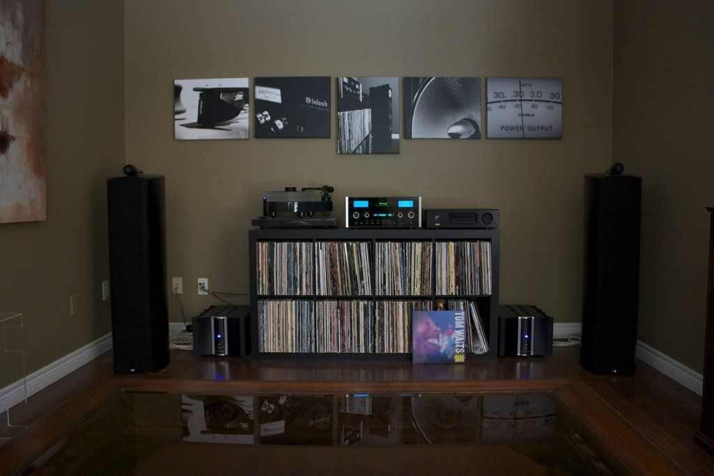 The Beauty of a Home Music Listening Room on Pinterest  Audio Room Speakers and Music Rooms