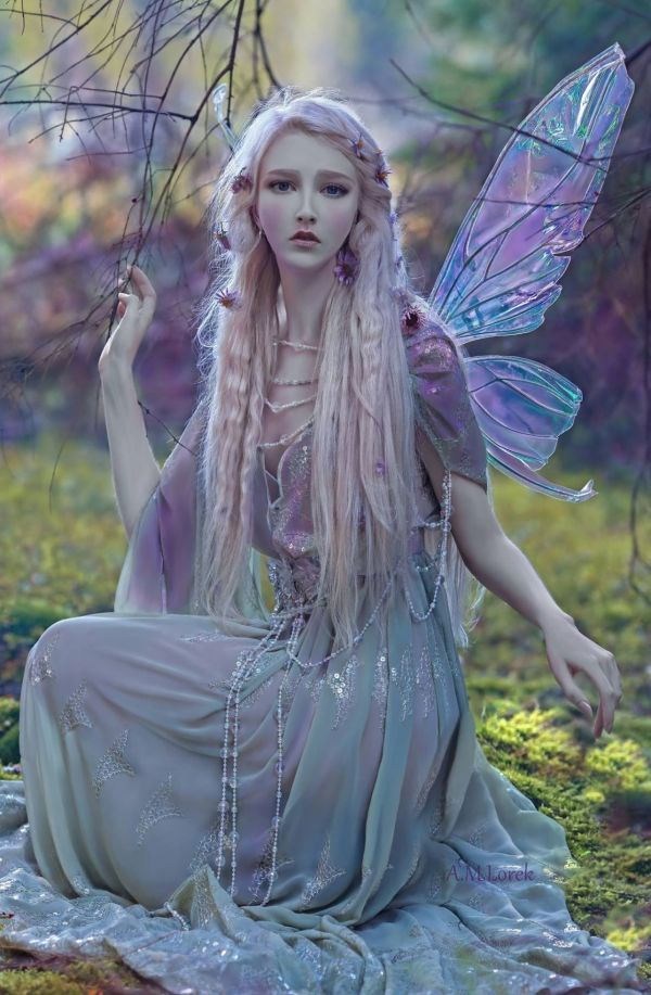 Stunningly Magical In Titania Fairy Wings Enchanted