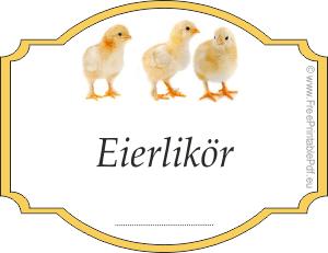 Etiketten fr eierlikr zu drucken  Etiketten  Pinterest