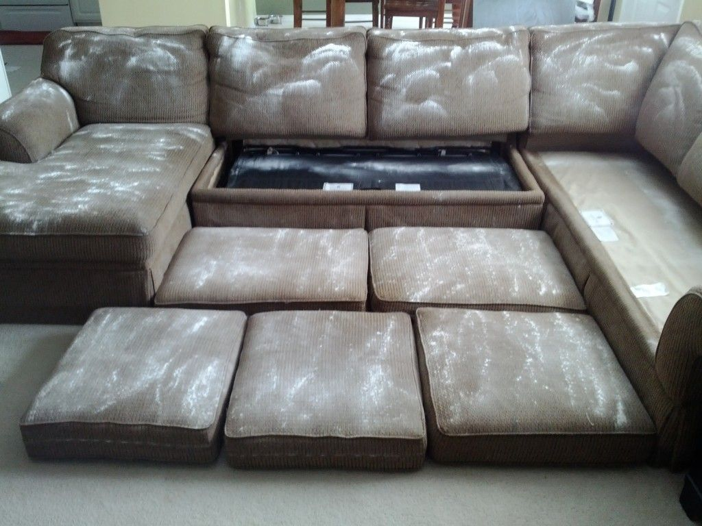 clean sofa with baking soda ashley wilmington walnut and loveseat remove couch odors i did this last night