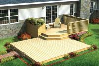 small deck ideas for mobile homes - Google Search | Decks ...