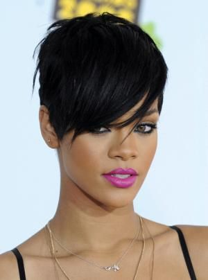 Short Hairstyles African American Women Short Haircuts For Round