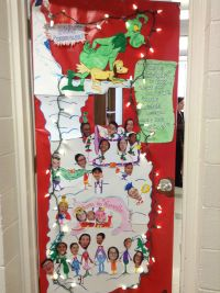 The Grinch classroom door | Door Decor | Pinterest ...