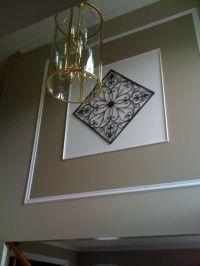 story foyer decorating ideas | Foyer Wall, Two story foyer ...