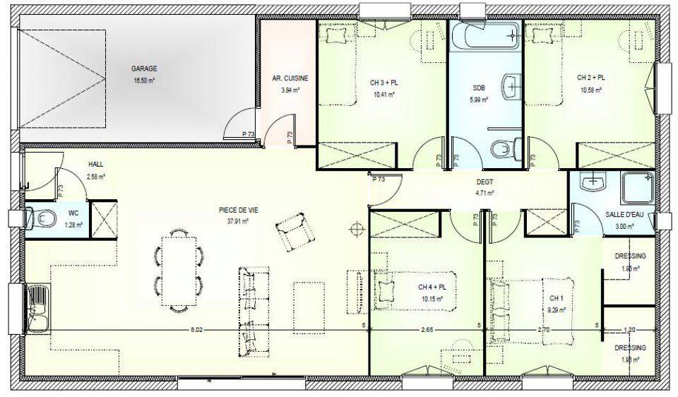 Plan Maison Pieces