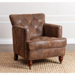 Tafton Club Chair Bean Bag Chairs Kmart Abbyson Antique Brown Fabric By