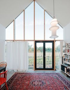 Living room of family house in slovakia by jrkvc  love big windows also daily dose int studio pinterest rh