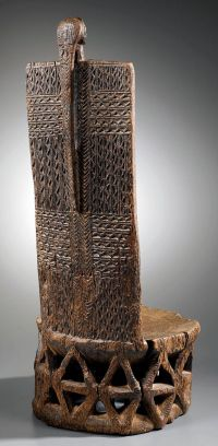 Africa | Throne from the Tabwa people of DR Congo | Wood ...