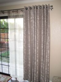French Doors with Double-Rod Drapery - Google Search ...