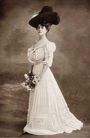 edwardian fashion models 1900