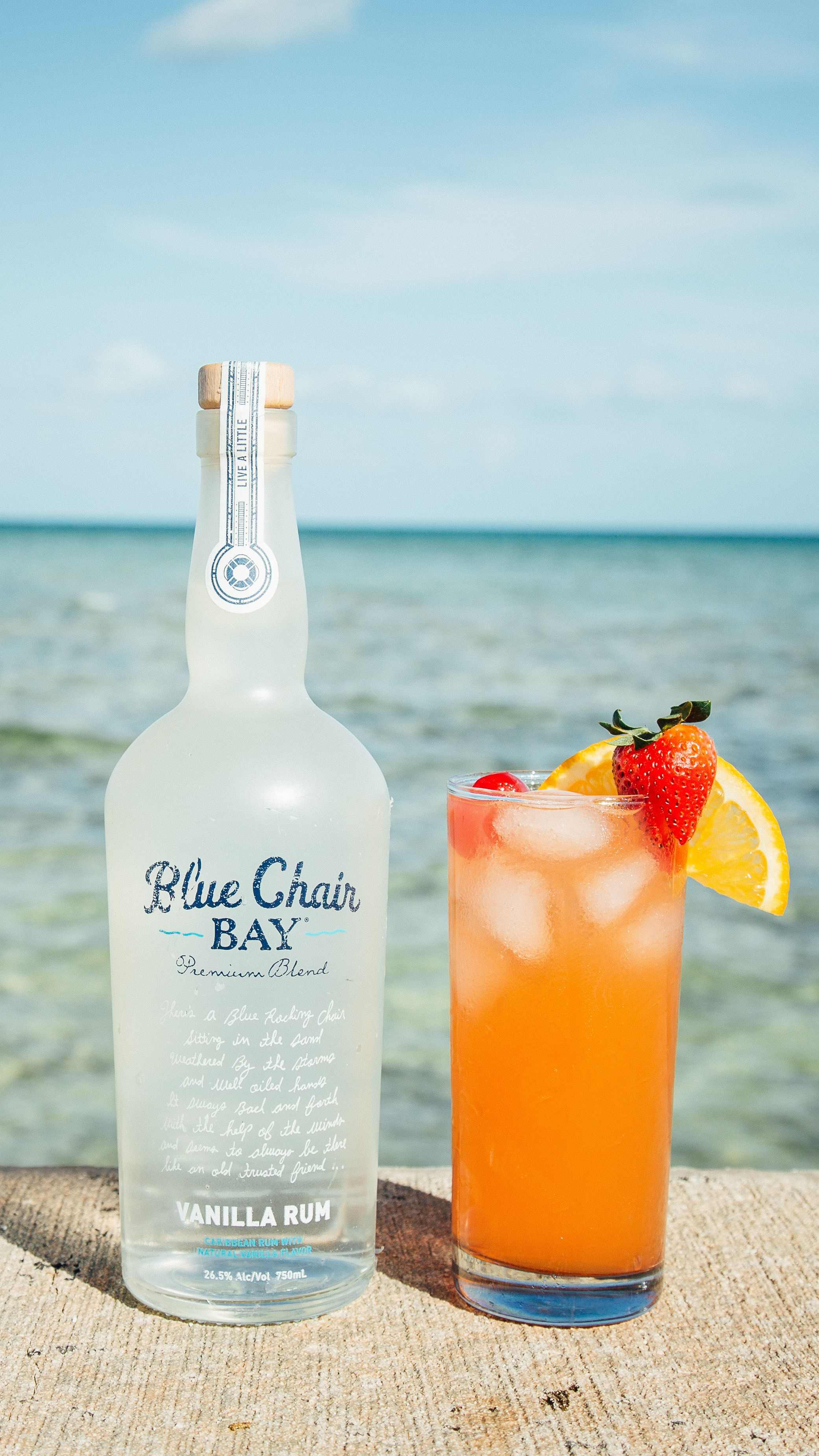 Blue Chair Bay Coconut Rum Beach Chair Cocktail 2 Oz Blue Chair Bay Vanilla Rum