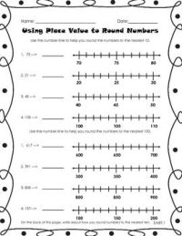 Rounding Practice | Common cores, Rounding and Math