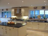 Cream Shaker Kitchen, Canford Cliffs | Purbeck Bathrooms ...