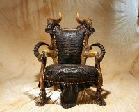 This is going in our living room! Satan's Throne by The