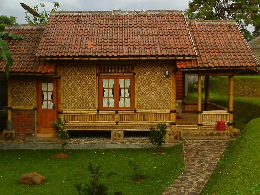 Simple Bamboo House Design Idea Photo Great Home Design Ideas