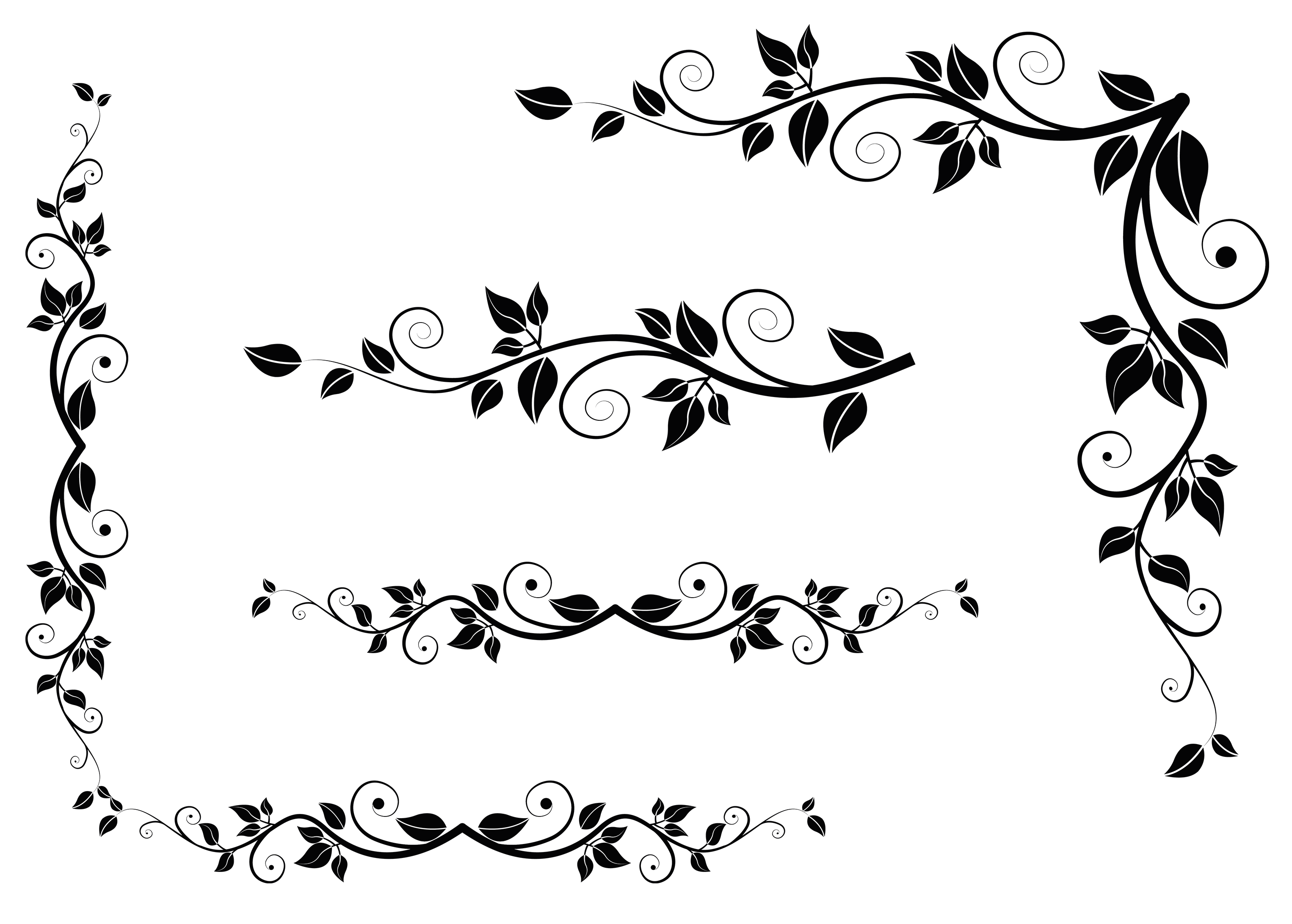 Deco Leaves Clipart Picture