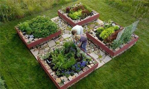 Garden Design With Unique Raised Garden Bed Design Ideas