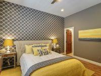 Chic yellow and grey bedroom.   Bedroom   Pinterest   Gray ...