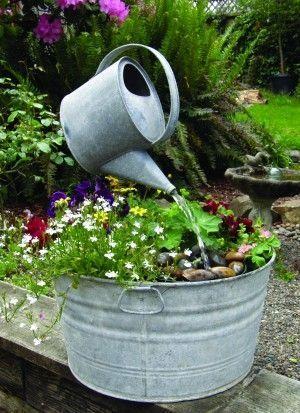 Diy Garden Decor Ideas Pinterest Planbois