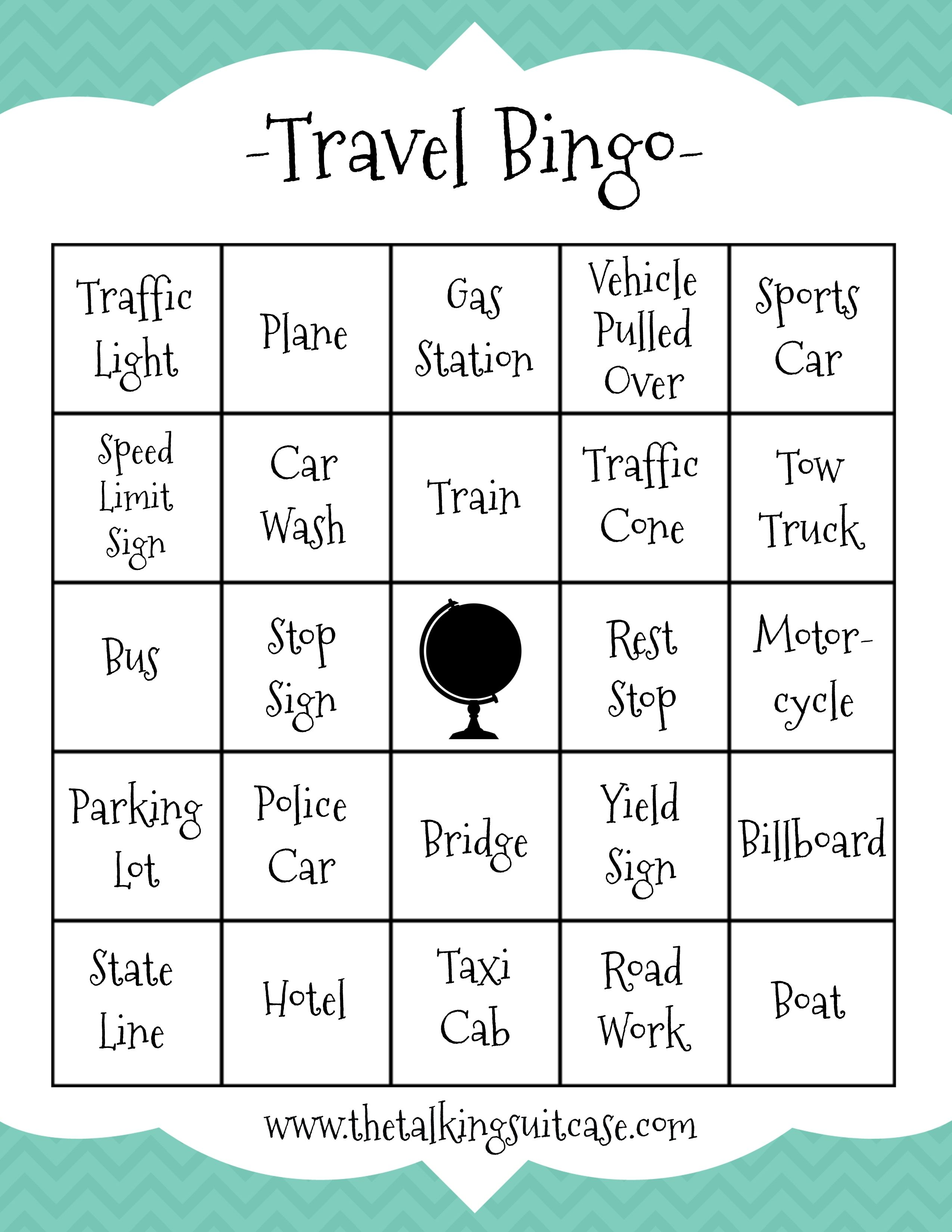 Travel Printables Archives