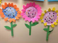 Paper plate flowers #littlehandsbigplans | Kids Crafts ...