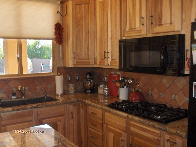 Mexican Tile Backsplash Ideas  Saltillo tile backsplash