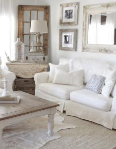 enchanted shabby chic living room decoration ideas also rh pinterest