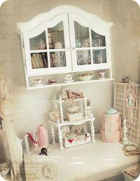 Shabby Chic Craft room... | Love Sabby Chic & Altered Art ...