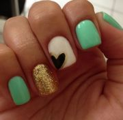 heart nail art ideas