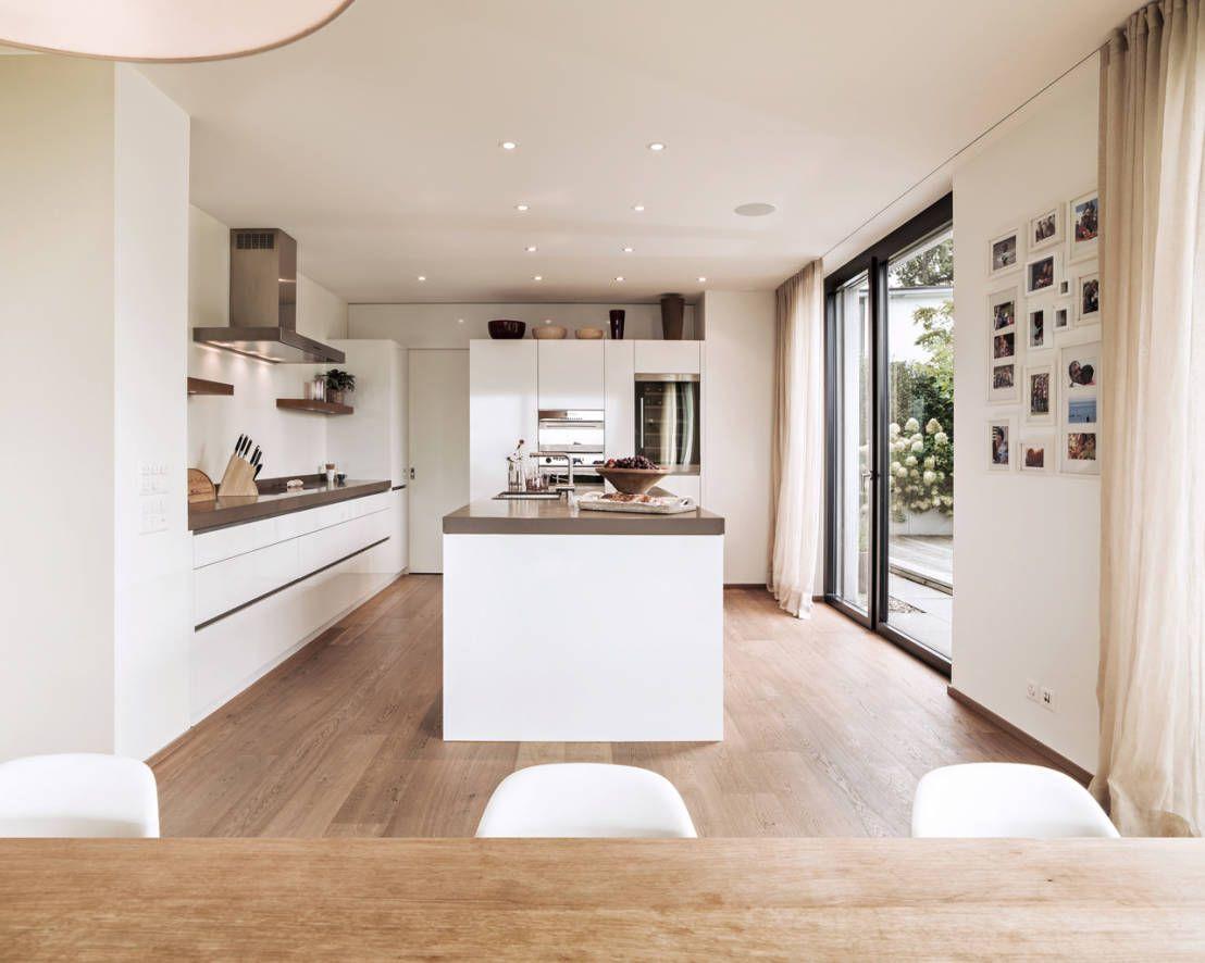 Cuisine blanc et bois cuisine blanche cuisines modernes et   maison  Pinterest  Cuisine
