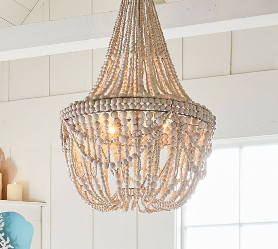 Lighting Chandelier Beach House Beaded Great Price Francesca Via Paterry
