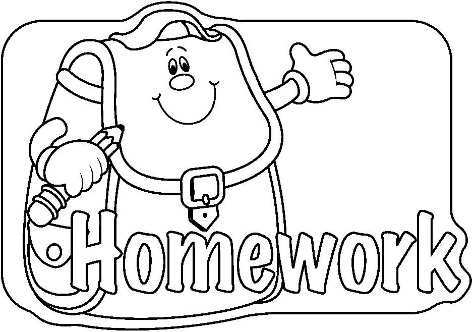 Math Homework Clip Art